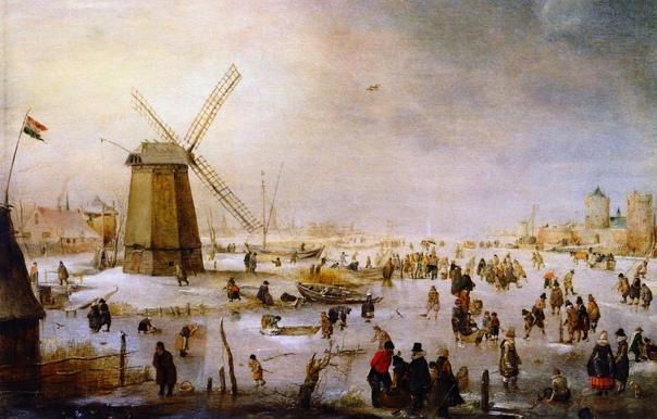 Золотой век голландской живописи. Хендрик Аверкамп