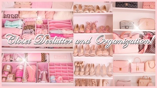 Spring Closet Declutter, Clean, And Organize with Me!