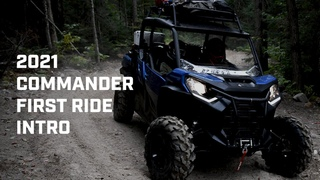 2021 Commander First Ride & Introduction | Can-Am Off-Road