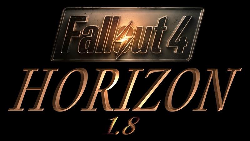 Fallout 4 Сборка IRWL4FALL 1 2 HORIZON v 1 8 108 СТРОЙКА ПО БОКУ ИЛИ ПСИХ В БУНКЕРЕ