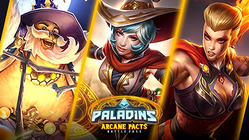 Paladins Cast Spells in the Arcane Pacts Battle Pass