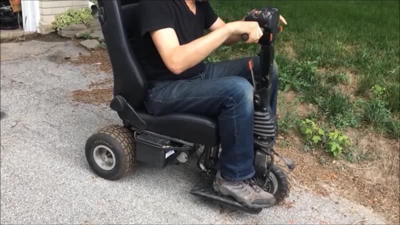 Супер пупер скутер Super Puper Scooter Скутеры для инвалидов Mobility scooter