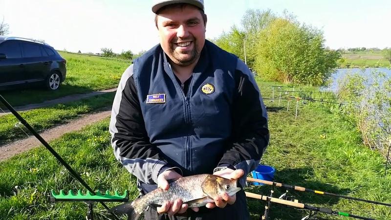 Рибалка на фідер ставок Вороницький