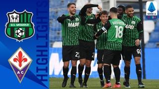 Sassuolo 3-1 Fiorentina | Berardi Brace Saves Sassuolo | Serie A TIM