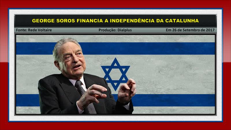 George Soros Financia a Independência da Catalunha na Espanha