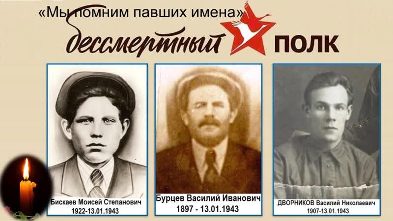 Мы помним павших имена Краеведческая выставка акция ко дню освобождения Коротояка от немецко фашистских захватчиков