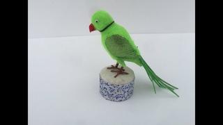 DIY Egg Shell Parrot   How to make Parrot   Egg Shell Craft   5min Craft   Bestoutofwaste