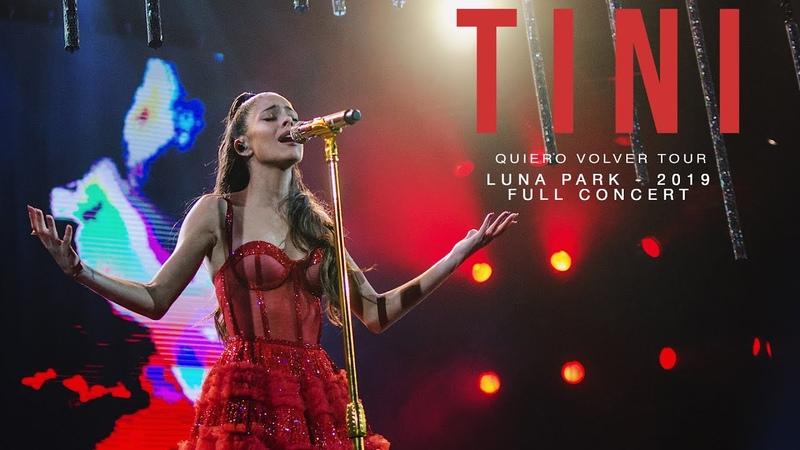 TINI Quiero Volver Tour Luna Park 2019 Full Concert