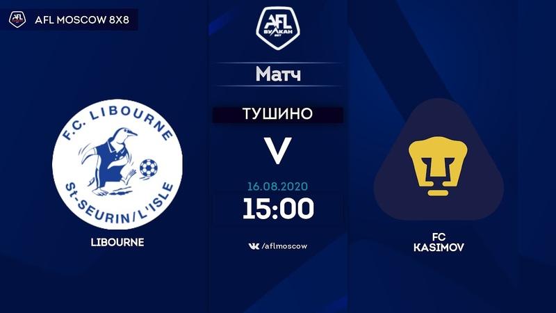 AFL20 Euroleague C1 Day 6 Libourne FC Kasimov