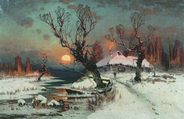 «Закаты» Юлия Юльевича Клевера