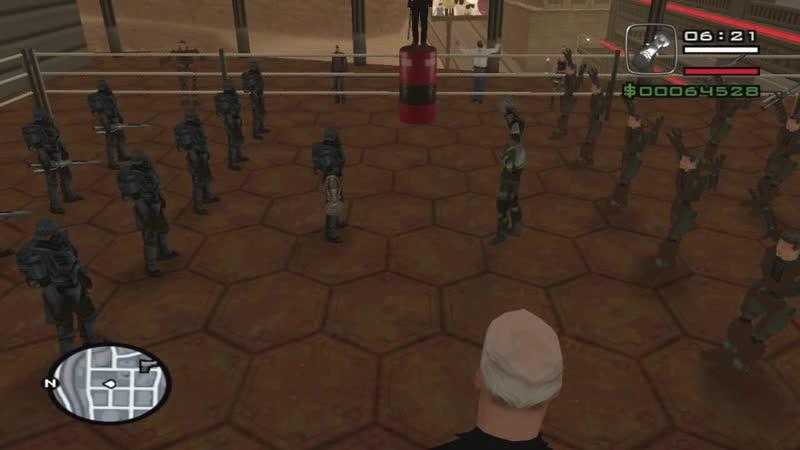 GTA Alien City - Fighting Club, Konopolis 1 Father vs Children
