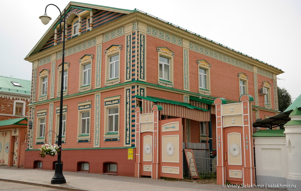 Дома Старо-Татарской слободы, Казань 2020