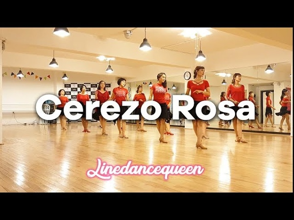 Cerezo Rosa Line Dance mprover Sally Hung Demo Count