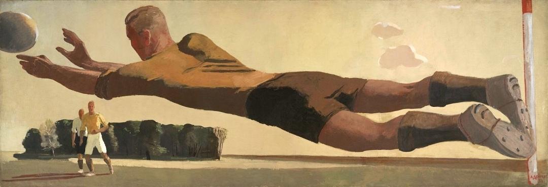 """картина - """"Вратарь"""", 1934"""