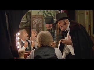 """Пьер Ришар в оперном театре Кутаиси (из """"1001 рецепт влюбленного кулинара"""", 1996)"""