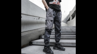 Новинка 2020, мужские брюки карго, уличная одежда, мужские повседневные брюки, спортивные штаны в стиле хип хоп harajuku, брюки