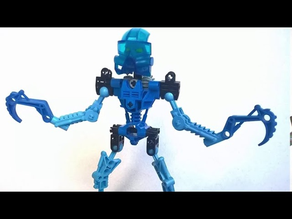 Лего Бионикл Обзор набора Тоа Гали 8533 2001 Lego Bionicle Toa Gali set review