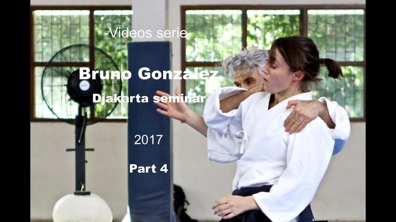 Jo class, Bruno Gonzalez Djakarta Aikido seminar, Indonesia 2017 Part 4/9