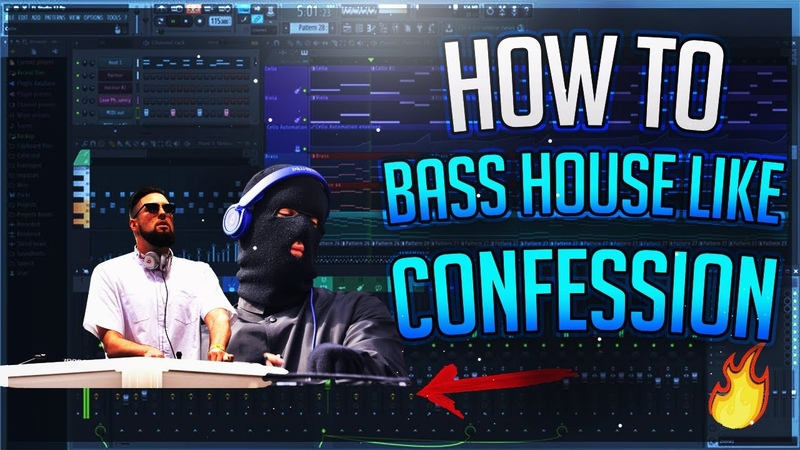 How To Confession Style Bass House drop in FL Studio Tchami Malaa's label