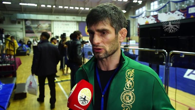 Арсен Гитинов Чемпионат России по вольной борьбе 2020 Наро Фоминск