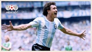 All of Argentina's 1986 World Cup Goals   Maradona, Valdano & more!
