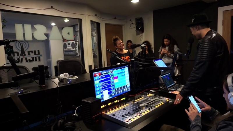 DJ Hapa . MelyMel debuts her latest track live with DJ Hapa on Dash Radio