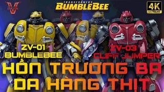 Bumblebee ZV01 VS Cliffjumper ZV03 Unbox Review