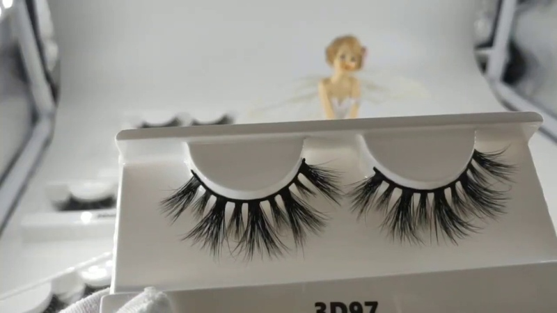 3d mink lashes custom eyelash packaging boxes avaprolashes