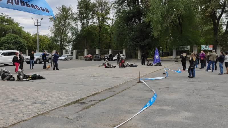 Рыцарская реконструкция на выставки собак в Донецке - Концовка !)