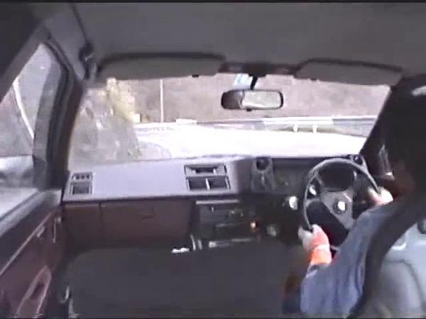 Old Drift video on irohazaka With EuroBeat