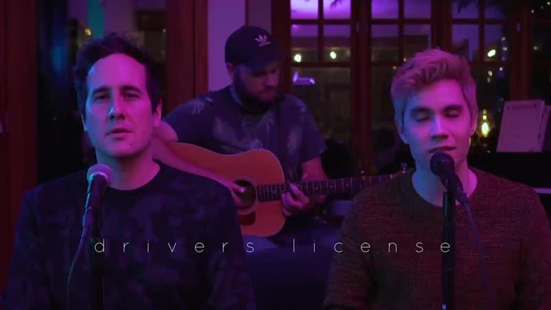 Drivers license Olivia Rodrigo acoustic duet version Sam Tsui Casey Breves