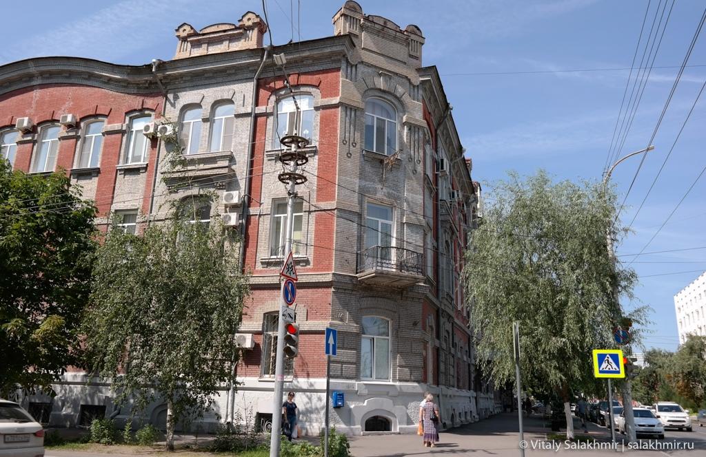 Дома на улице Сакко и Ванцетти, Саратов 2020