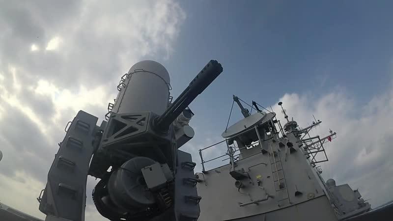Weapons Test Aboard USS Wayne E. Meyer (DDG 108)