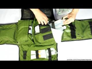 """Что носит израильский военный медик - израильский бронежилет медика """"oso gear"""""""