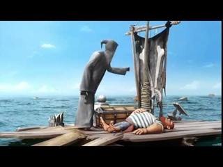 Джи . Смерть Паруса . Короткометражный Мультфильм