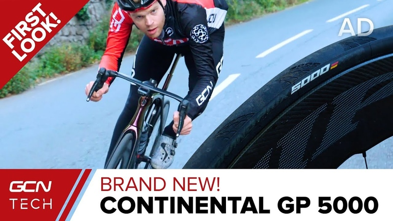 NEW Continental GP 5000 Tyres GCN Tech's First Ride