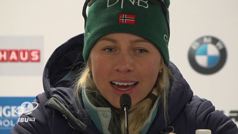 CAN19 Women's Short Individual Press Conference with Tiril,Marketa and Lisa