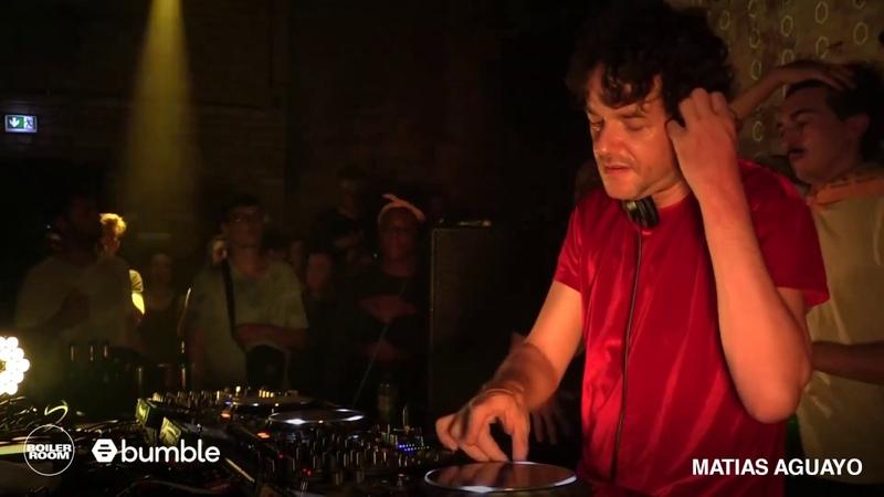 Matias Aguayo | Boiler Room x Bumble | Berlin