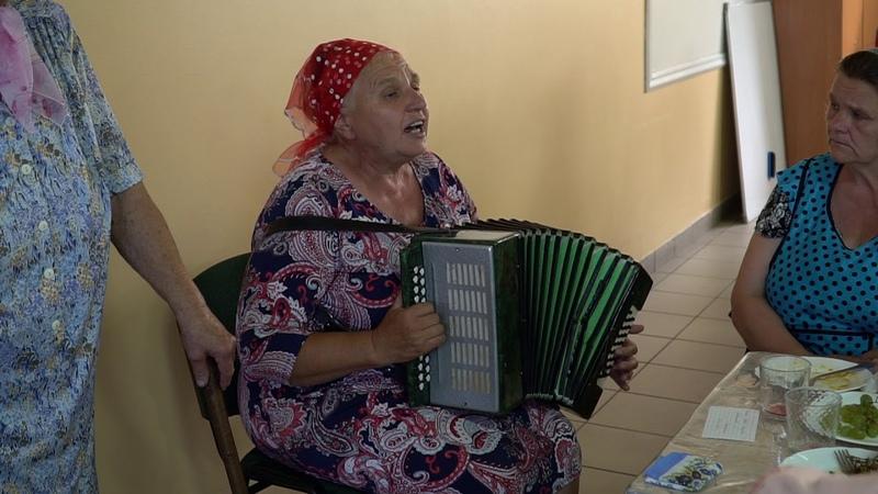 Ох старость не радость пение Анна Матяшук