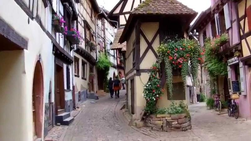 Eguisheim plus beau village de France 2013