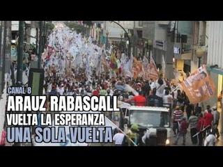 Andrés Arauz - Impresionante apoyo popular al binomio de la Esperanza. Machala