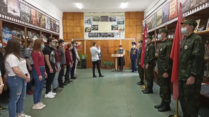 Передача Знамени Победы и Знамени бессмертного полка