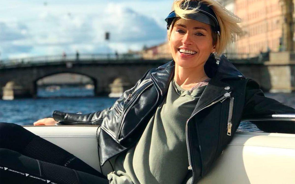 Анна Семак, жена главного тренера Зенита