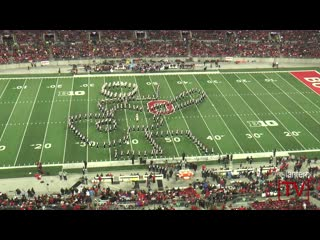 Ohio State Marching Band: Back To The Future [Halftime Show vs. Minnesota] 11-7-2015