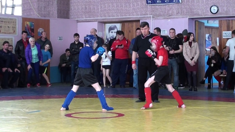 Павлиди Алексей 2 бой
