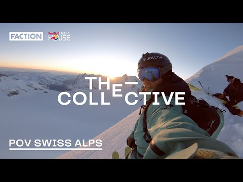 POV Swiss Alps: The Steepest Sh*t I've Ever Skied (4K)