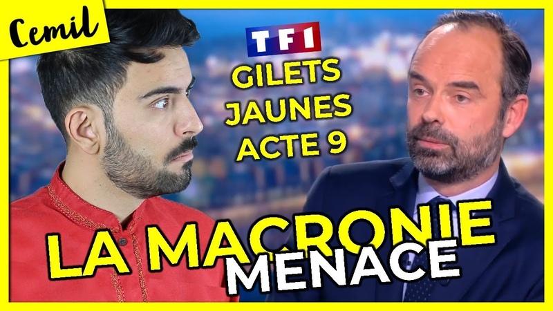 SUR TF1 LE GOUV NOUS MENACE DECRYPTAGE