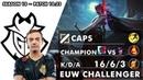 G2 Caps Yone Mid vs Syndra EUW Challenger 10 23