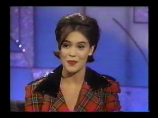Alyssa Milano on Arsenio Hall Show | 1991