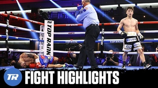 Naoya Inoue Highlight Reel Knockout of Michael Dasmarinas, 3 Knockdowns in 3 Rds   FIGHT HIGHLIGHTS